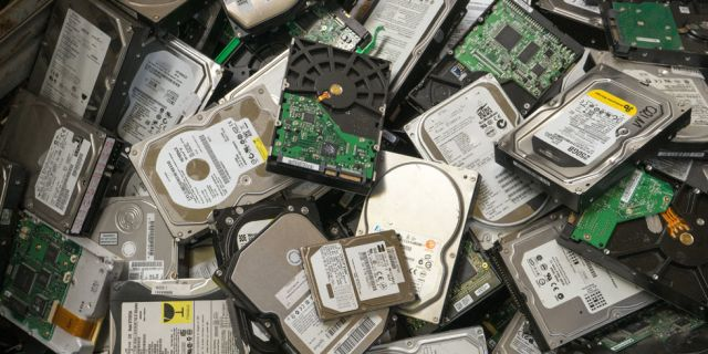 Hard Disk Drives - Recycle IT