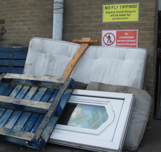 Unwanted and Dumped Recycling