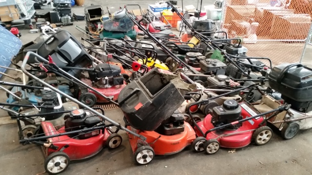 Summer Recycling - Lawn Mowers