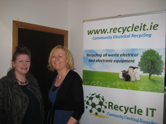 Una Lavelle, Recycle IT and Maria FInn South Dublin County Council