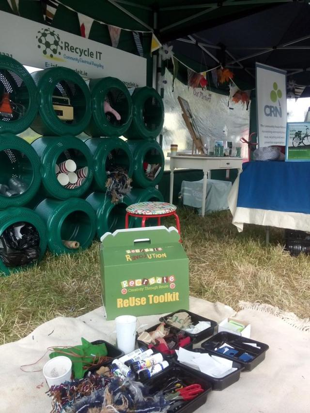 Recycle IT at Bloom 2016