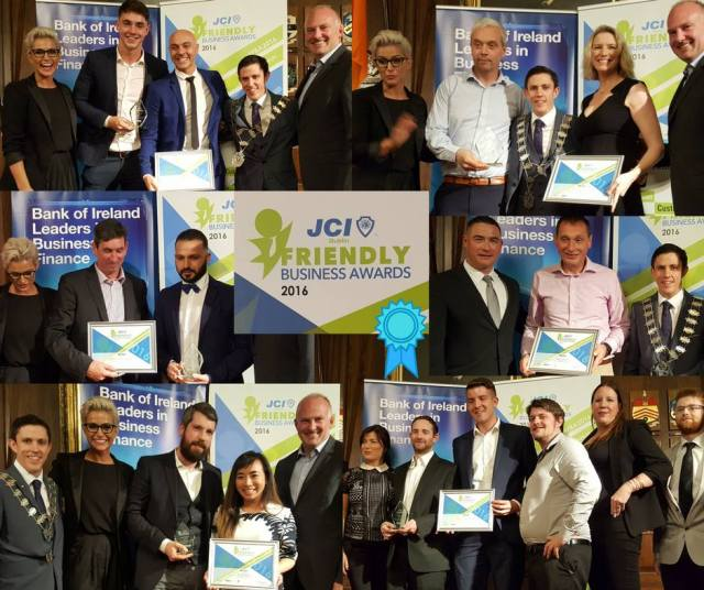 JCI Friendly Award Winners 2016