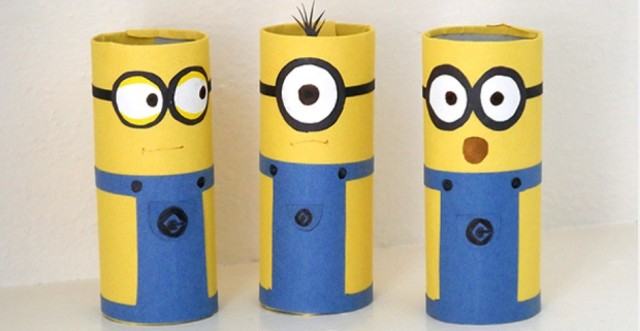 Minions - Reuse Toilet Roll Tubes