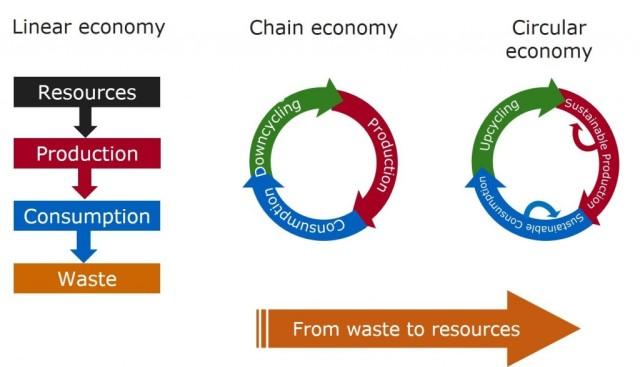 Evolving Circular Economy