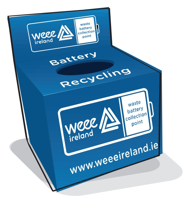 WEEE Ireland Battery Box