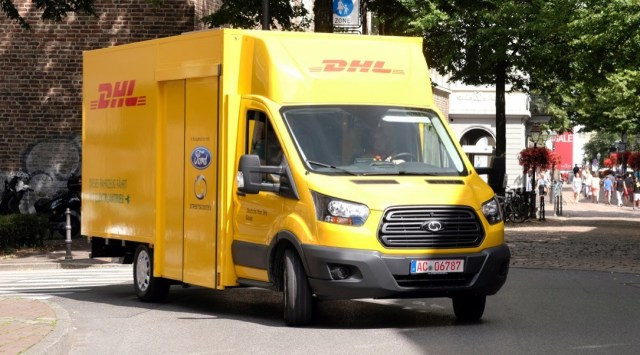 DHL Electric Van