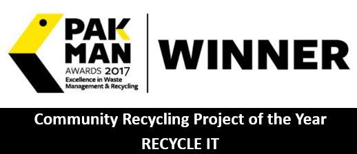 Pakman Award - Recycle IT