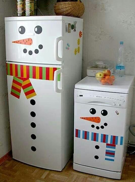 Festive Fridge Frezzer