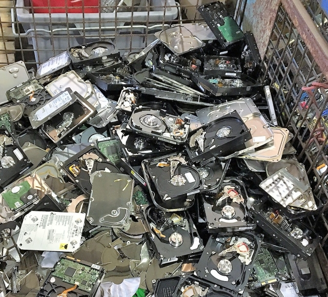 Hard Disk Drive Recycling