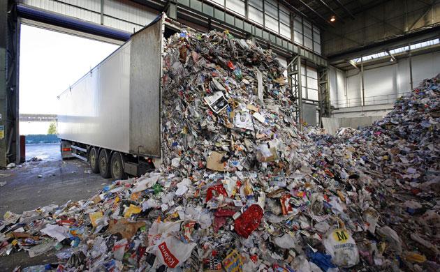 Truck Full of Waste