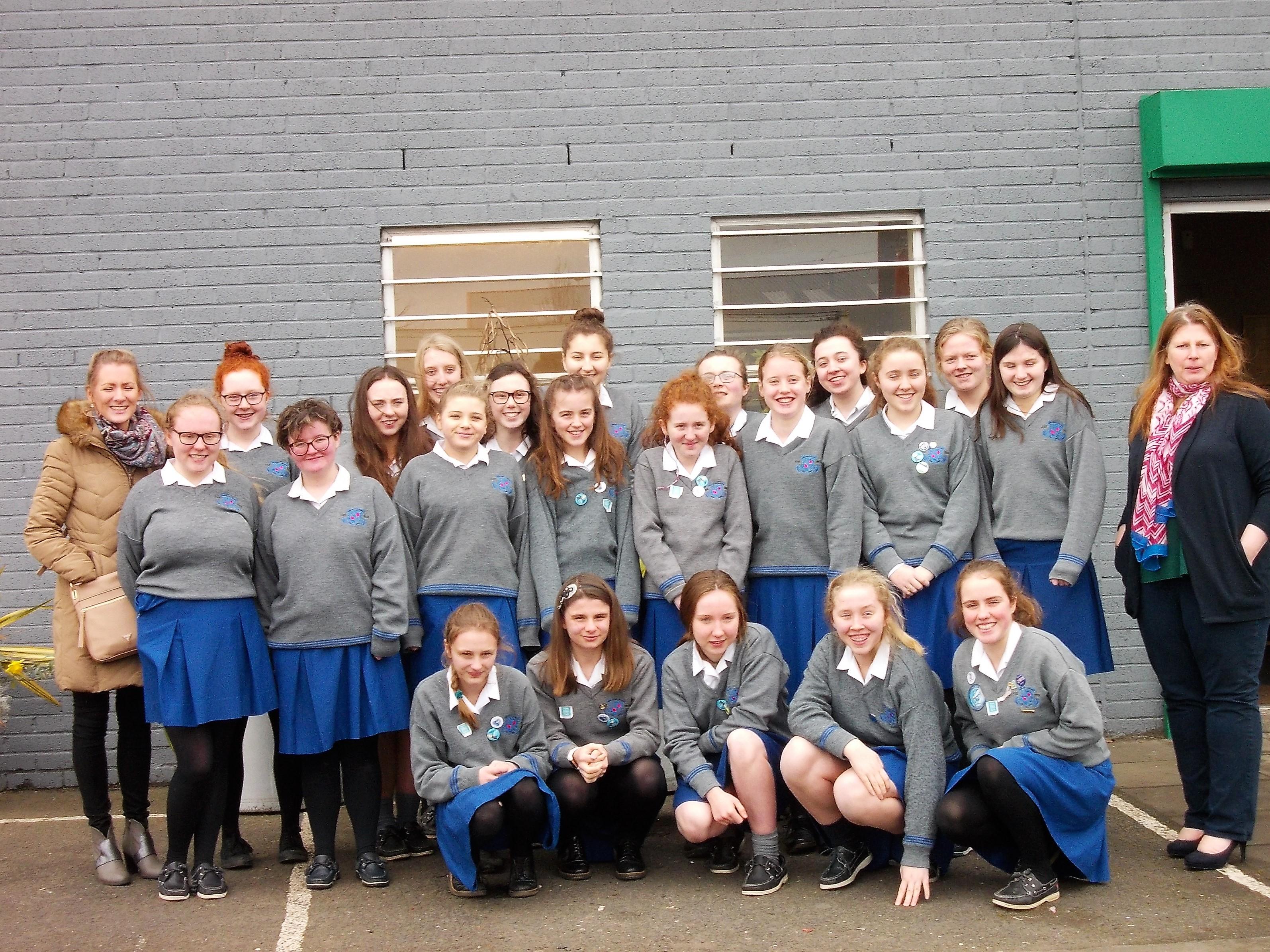 Loreto Secondary School, Kilkenny TY Studetns at Recycle IT