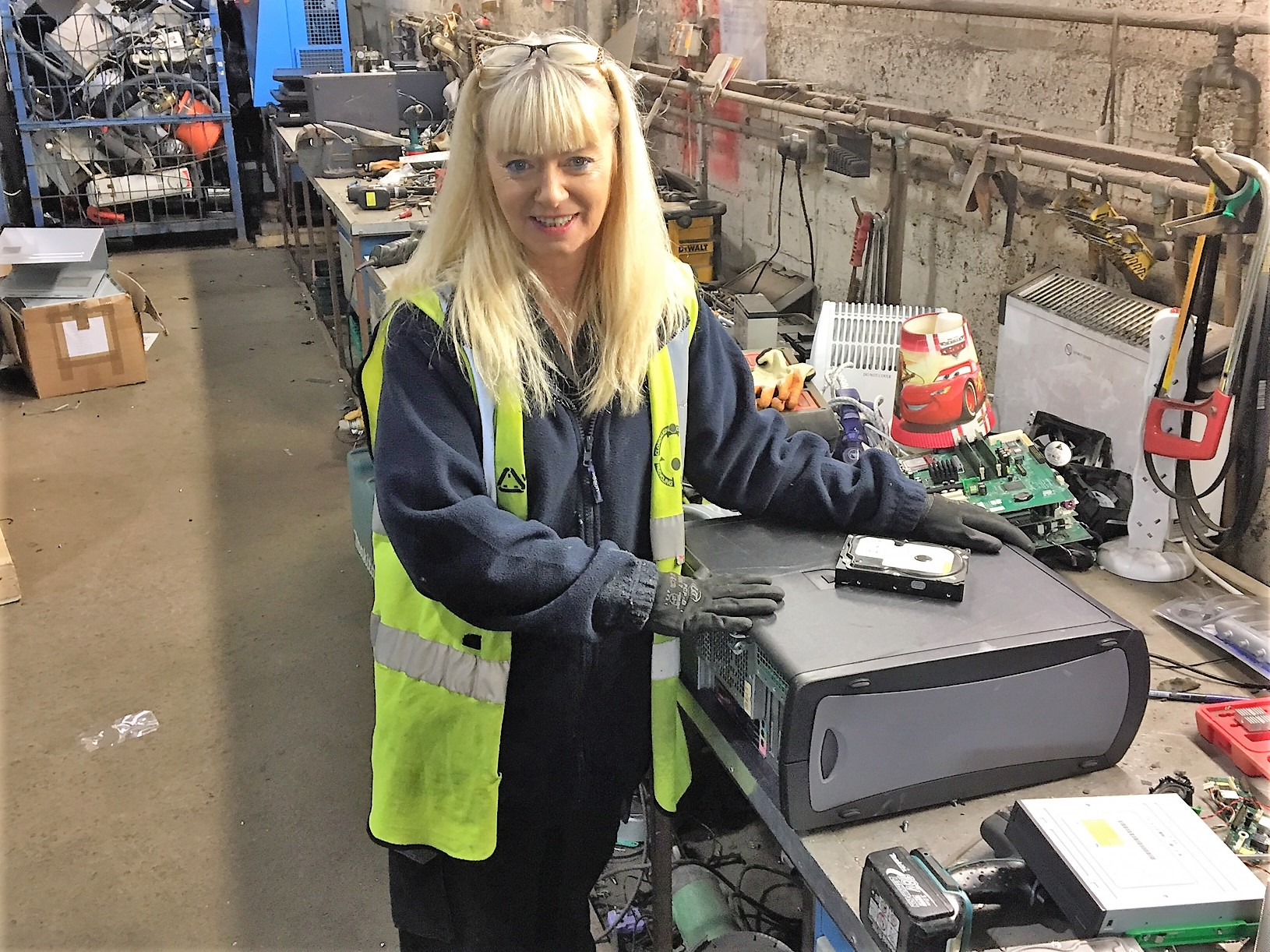Gender Inclusive Roles at Recycle IT