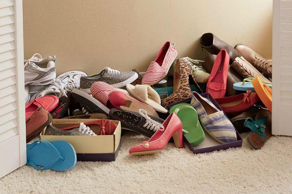 Shoe-Clutter