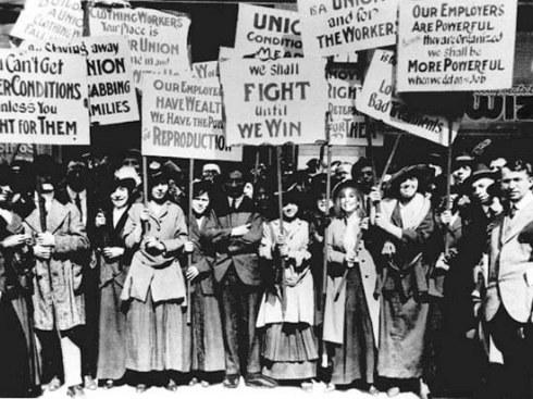Women Workers Strike