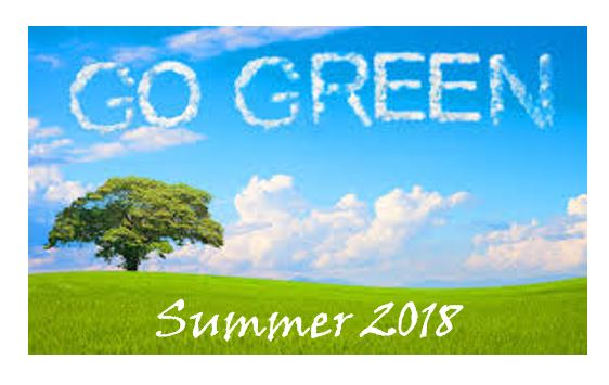 Go Green - Summer 2018 - Recycle IT
