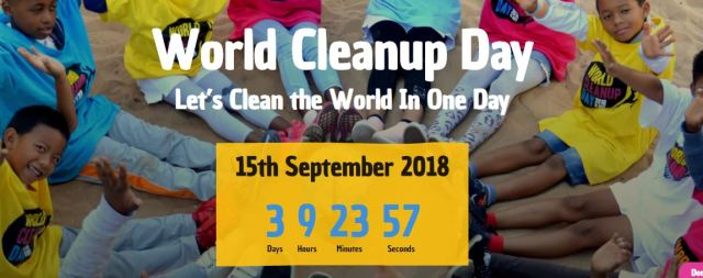 2018 World Clean Up Day