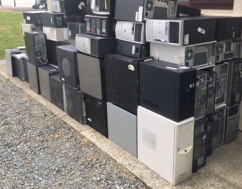Computers for Collection by Recycle IT