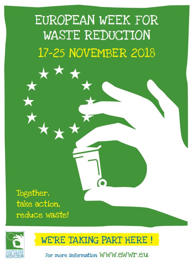 European Waste Reduction Week 2018 Support by Recycle IT